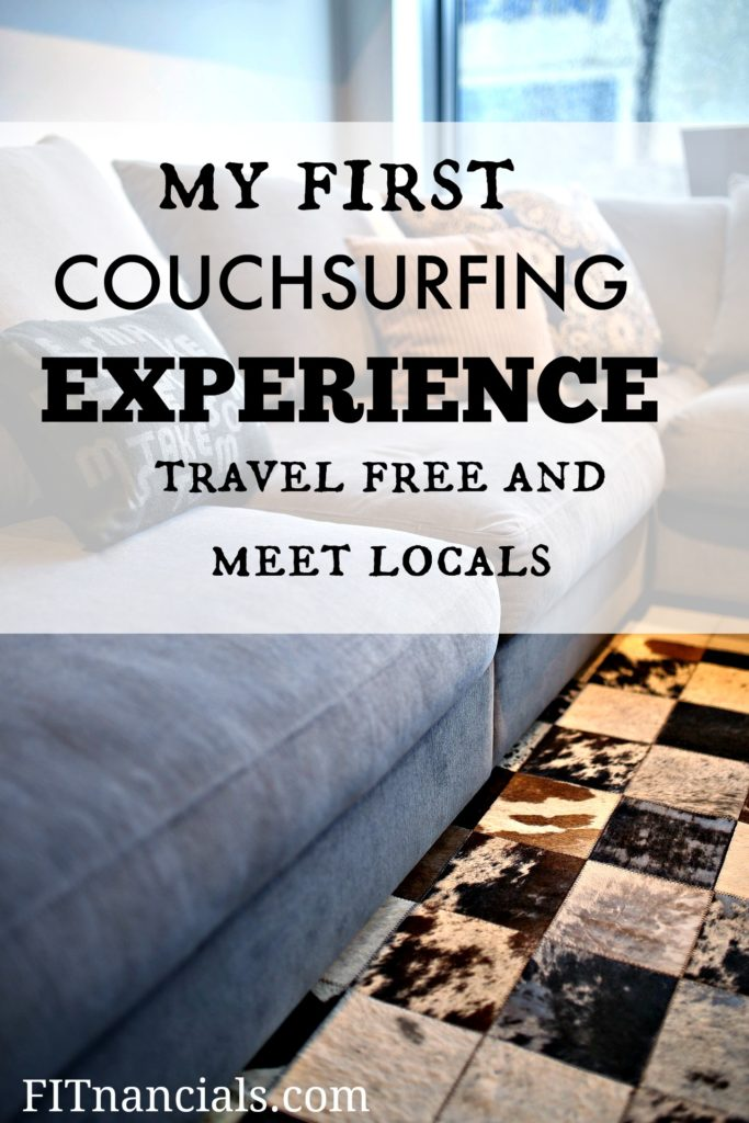 Check out my first experience couchsurfing!