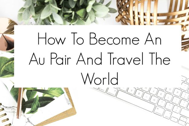 How To Become An Au Pair And Travel The World. This is such a helpful post to help anyone get started on their au pair journey.