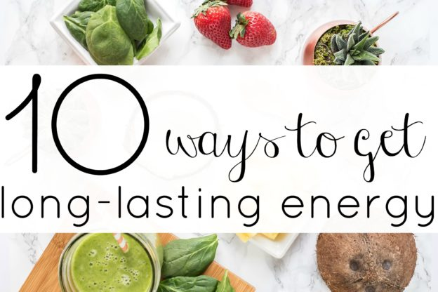 Check out these 10 ways to create long-lasting energy in your life. This is such a great list.