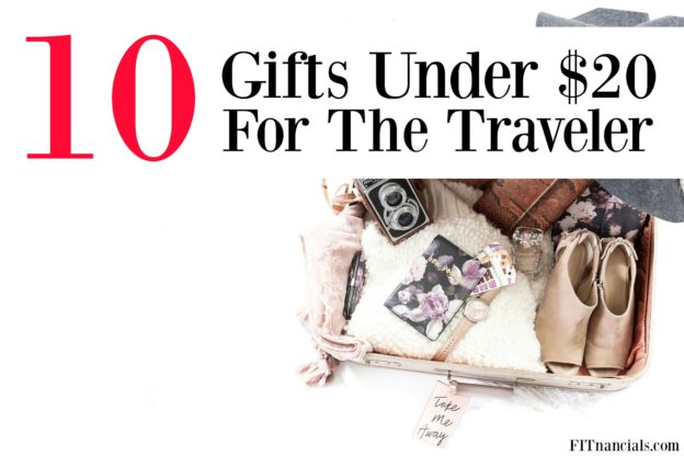 Check out these 10 frugal gifts for a traveler. This list is full of gifts under $20. Perfect for Christmas, birthdays, and more.