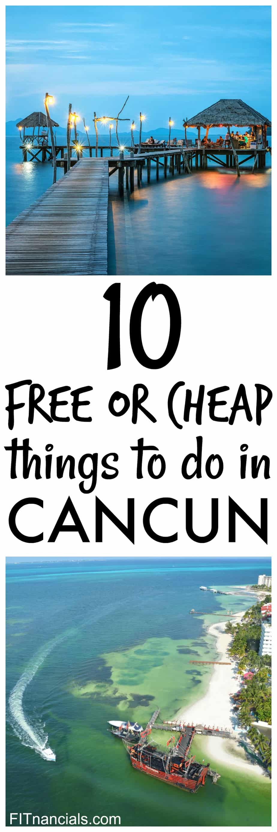 Check out this list of 10 free or cheap things to do in Cancun! This is such a great list.