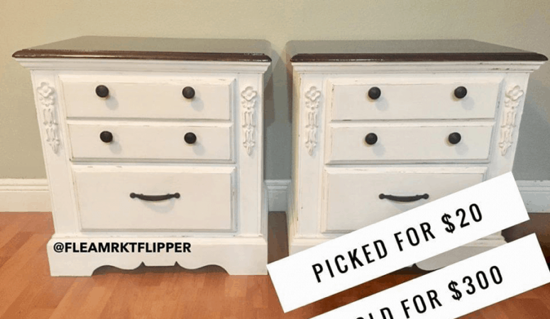 How To Make Full-Time Income Flipping Furniture