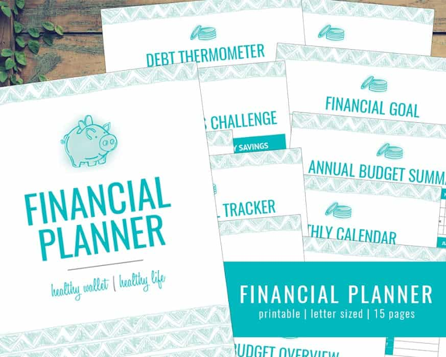photograph about Free Printable Financial Planner identified as 6 No cost Regular monthly Finances Printables That Are Tested In direction of Assist On your own