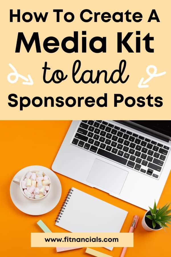 How To Create A Media Kit To Boost Blog Income + Free Media Kit Template