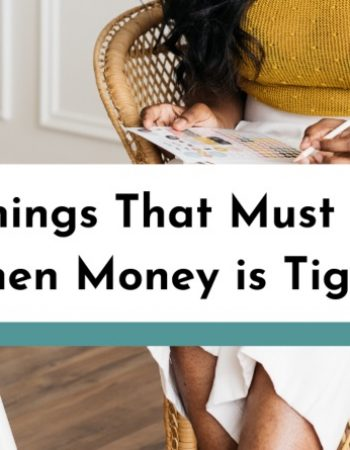 7 Things That Must Go When Money is Tight