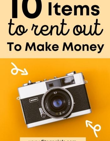 10 Things To Rent Out For Extra Cash