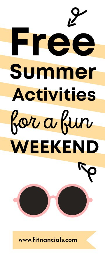 Free Summer Activities For An Exciting Free Weekend
