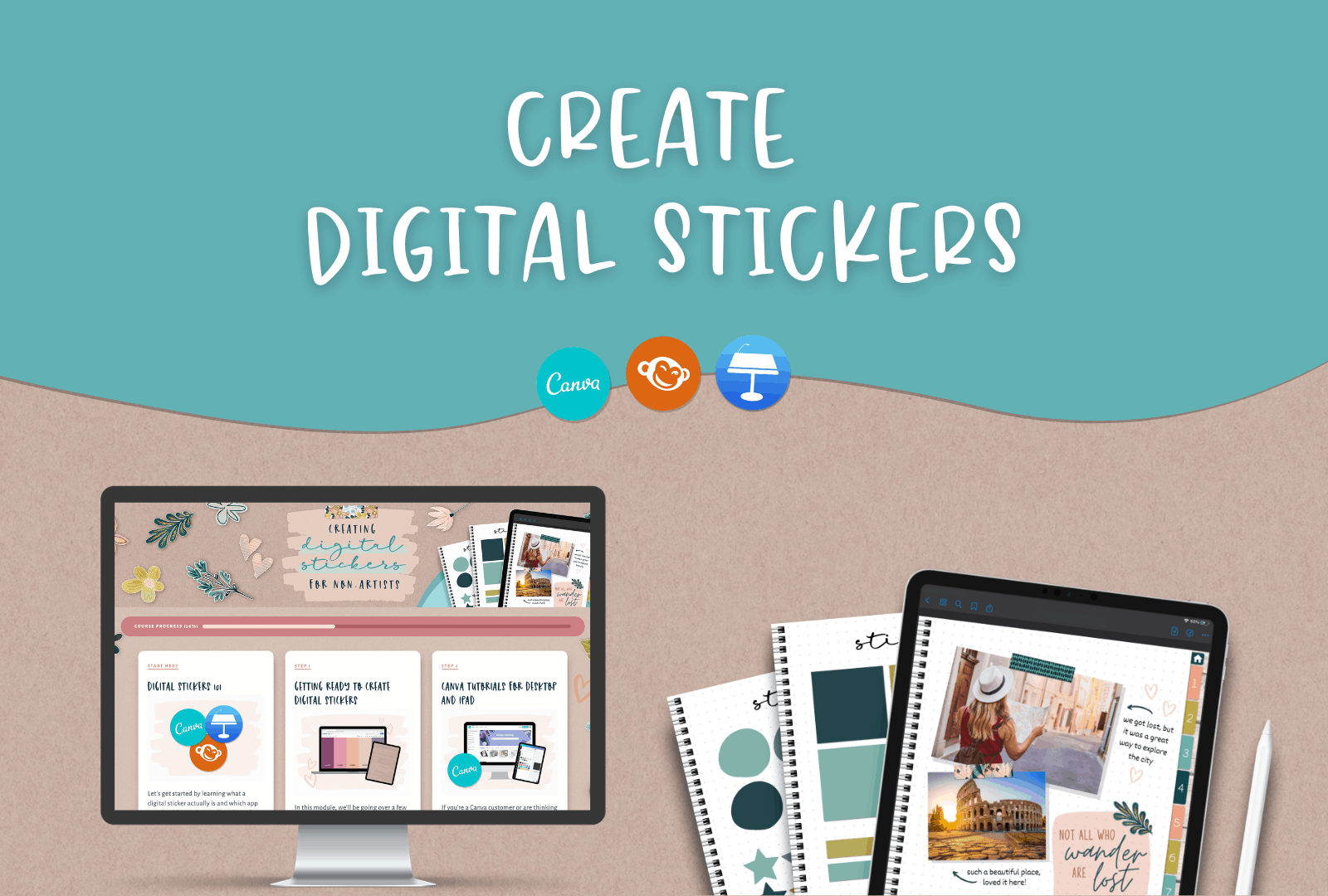 digital stickers