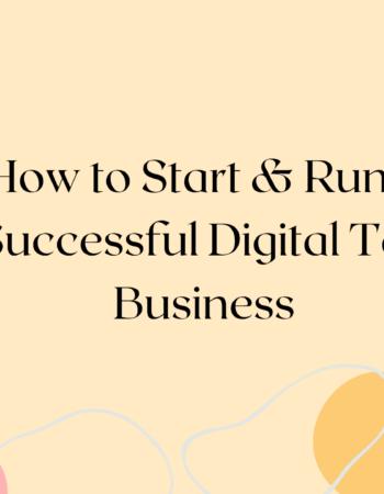 How to Start & Run a Successful Digital Tax Business